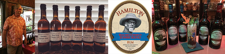 Zombie killers: Beachbum Berry and Ed Hamilton join forces on new rum blend