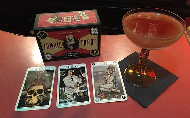 Revenge of the Atomic Zombie Cocktail (Photo by Hurricane Hayward, April 2021)