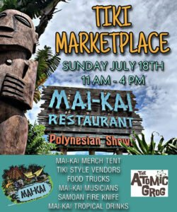 The Mai-Kai Tiki Marketplace on July 18, 2021