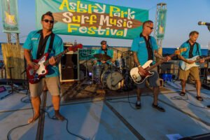 Aqualads play the Absury Park Surf Music Festival in August 2017. (Facebook photo)