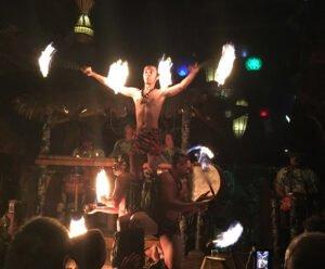 The Mai-Kai's Polynesian Islander Revue performs during The Hukilau 2018. (Photo by Hurricane Hayward)