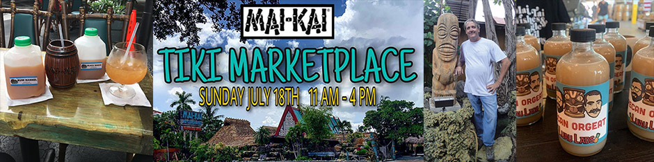 The Mai-Kai hosts 20 vendors, serves up tasty food and drinks at second Tiki Marketplace