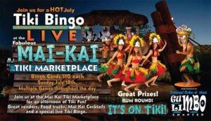 Live Tiki Bingo at The Mai-Kai, July 2021