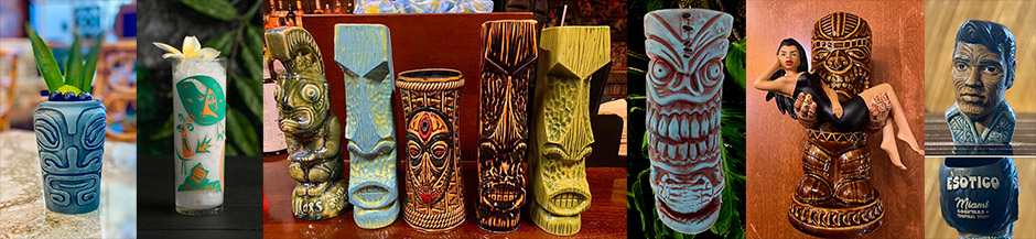 Support Tiki bars: Visit their online stores, buy the latest merchandise