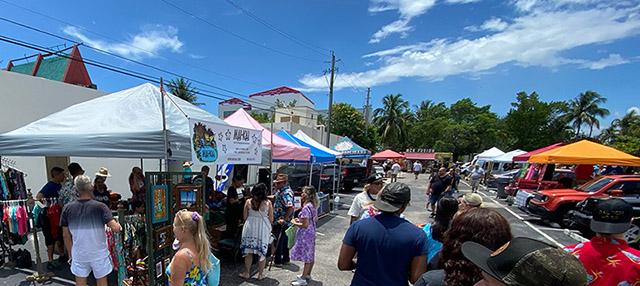 The Mai-Kai Tiki Marketplace in Fort Lauderdale, July 2021