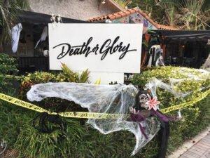 Death or Gory, aka Death or Glory, in Delray Beach. (Photo by Hurricane Hayward, September 2021)
