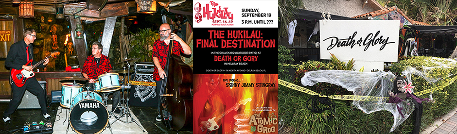 The Hukilau update: Death or Glory scares up spooktacular Sunday after-party