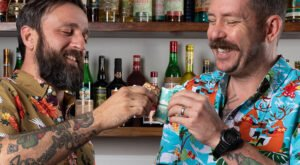 Michael Bloom and Kurt Rogers are Jacksonville-based bartenders and consultants known as the Luau Lads