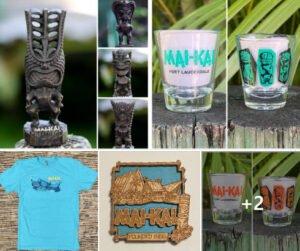 The Mai-Kai will have signature merchandise available at the Tiki Treasures Bazaar