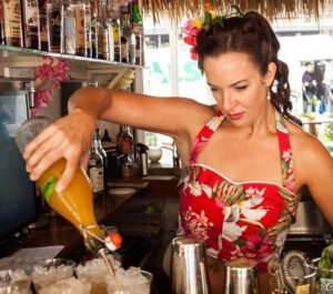Bartender, consultant and author Tiki Lindy will take guests on a spirited journey