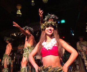 The Mai-Kai's Polynesian Islander Revue performers during The Hukilau in June 2019. (Photo by Jim Neumayer)