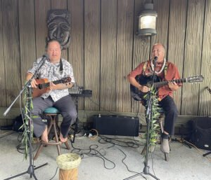 Mai-Kai musicians perform for guests of The Hukilau on Sept. 18. (Photo by Hurricane Hayward)