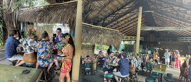 """Guests of The Hukilau gathered at The Mai-Kai on Sept. 18 for the """"Save Paradise Party."""" (Photos by Hurricane Hayward)"""