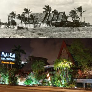The Mai-Kai in 1956 and today