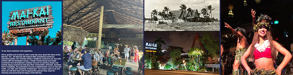 Fans rejoice as new partnership paves way for reopening of The Mai-Kai