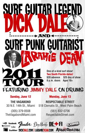 Dick Dale and Laramie Dean