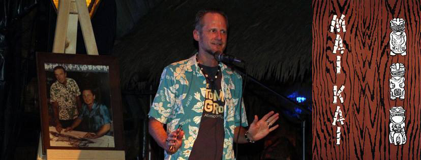 Jim Hayward at The Mai-Kai's 60th annversary in December 2016 in Fort Lauderdale