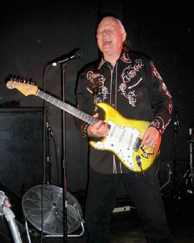 Dick Dale at Respectable Street in West Palm Beach on April 21, 2012