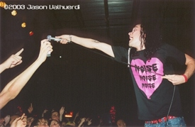 The Used live at Club Ovation, Boynton Beach, on April 5, 2003